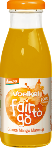 Voelkel fair to go Orange Mango Maracuja 0,25