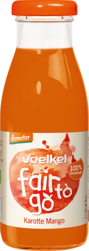 Voelkel fair to go Karotte Mango 0,25